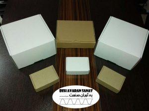 تولید و ساخت انواع مختلف جعبه