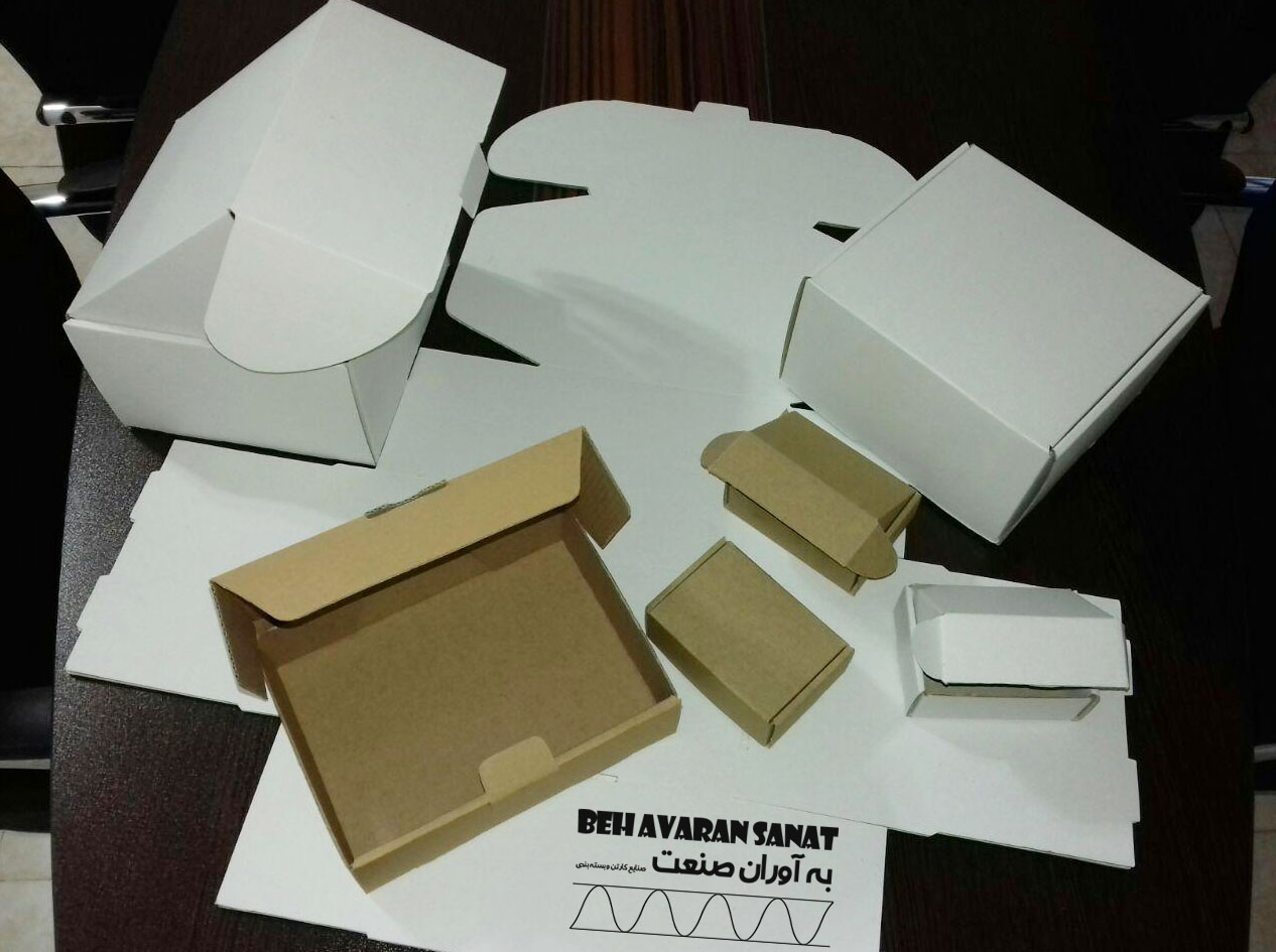 تولید کارتن و جعبه