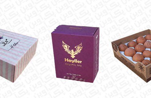 انواع بسته بندی کارتنی و لمینتی