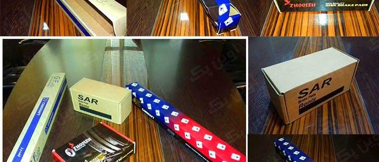 جعبه و کارتن قطعات صنعتی و مکانیکی