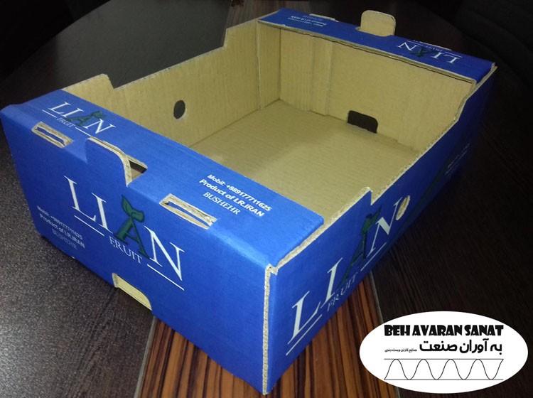 جعبه میوه چاپی