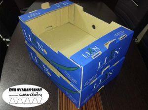جعبه کارتن میوه چاپی