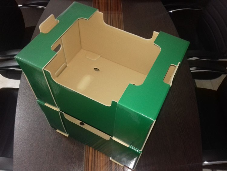 جعبه کارتن میوه لمینتی
