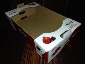 جعبه کارتن میوه انار صادراتی