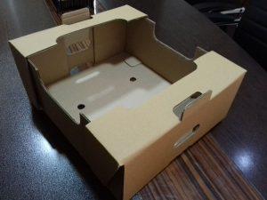 جعبه کارتن میوه ساده