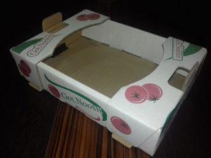 جعبه کارتن میوه چاپی ساده گوجه