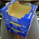 جعبه کارتن میوه گوجه صادراتی