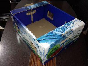 جعبه کارتن میوه هندوانه صادراتی