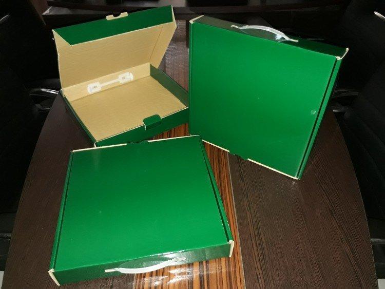 جعبه کارتن کیبوردی دسته دار