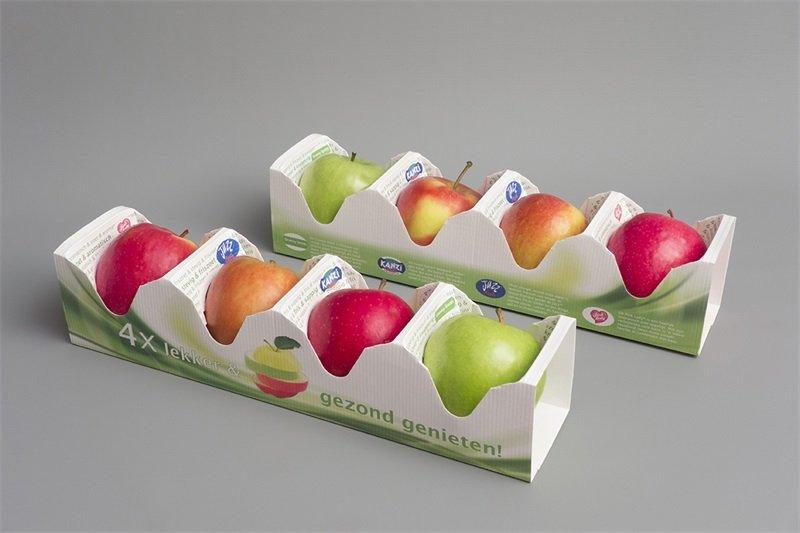 بسته بندی خلاقانه سیب