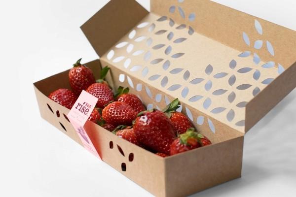 جعبه بسته بندی توت فرنگی