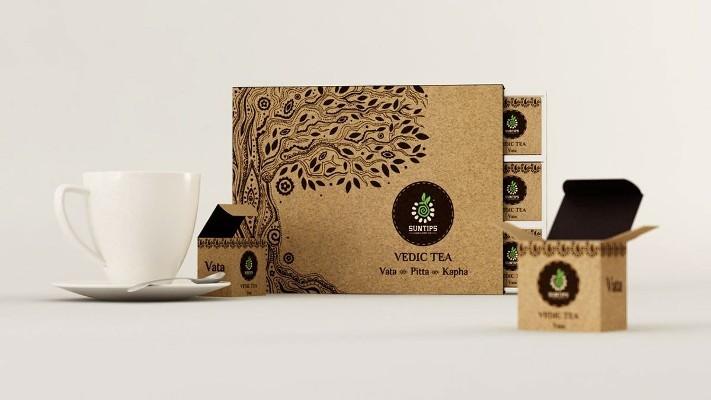 جعبه بسته بندی چای