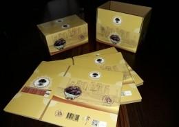 جعبه خرما شاهانی دو کیلوگرمی