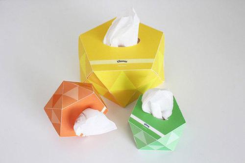فرم جعبه دستمال کاغذی