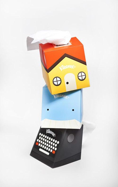 جعبه خلاقانه دستمال کاغذی