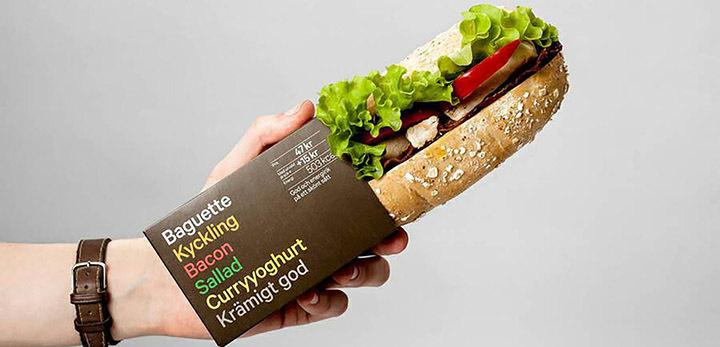 بسته بندی ساندویچ بیرون بر