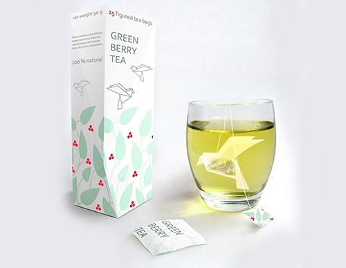 بسته بندی جذاب چای کیسه ای