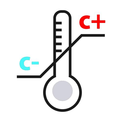 نماد بسته بندی علائم بسته بندی دمای محصول