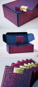 طراحی جعبه مقوایی خلاقانه ادکلن