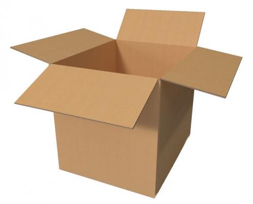 جعبه کارتن ساده