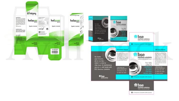 طراحی و چاپ جعبه مقوایی
