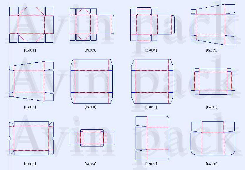 طراحی جعبه کارتنی و مقوایی