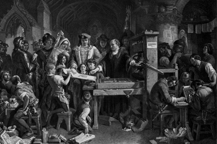 انواع چاپ در گذشته