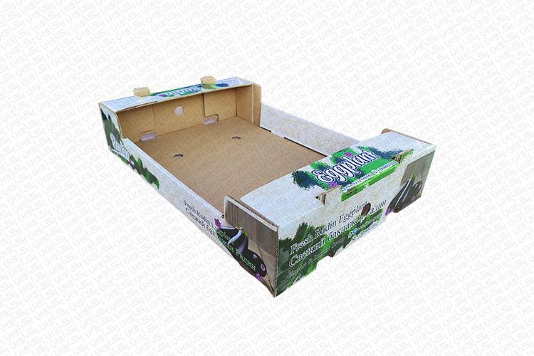 جعبه کارتن بادمجان صادراتی