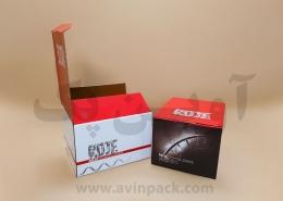 جعبه بسته بندی کیت کرونا