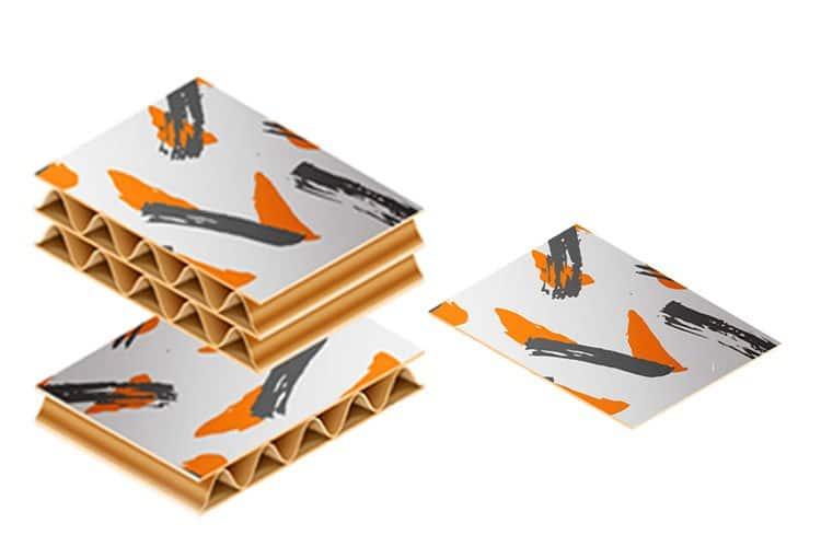 کارتن لمینتی سه لایه و پنج لایه