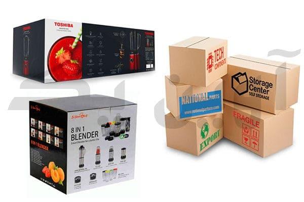 جعبه سازی و چاپ