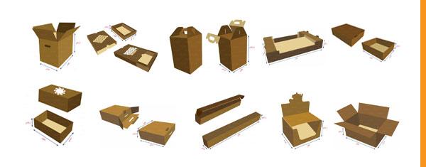 مدل های کارتن بسته بندی