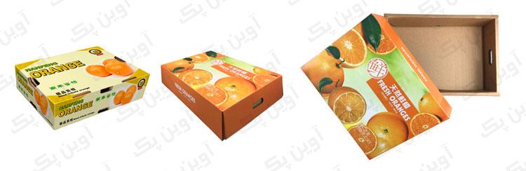 کارتن پرتقال 10 کیلویی صادراتی