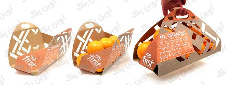 بسته بندی پرتقال