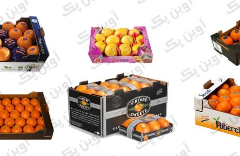جعبه کارتن پرتقال