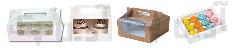 جعبه و کارتن بسته بندی شیرینی