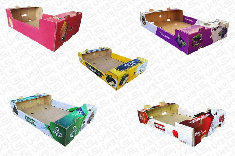 جعبه های لمینتی صادراتی