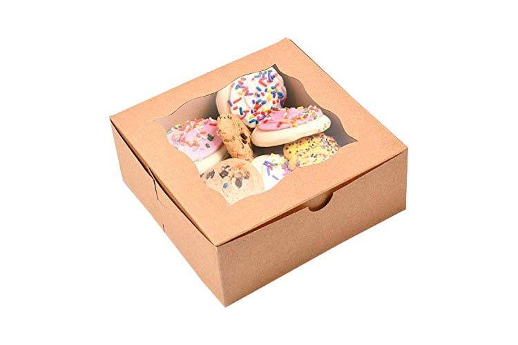 بسته بندی کارتنی کیک