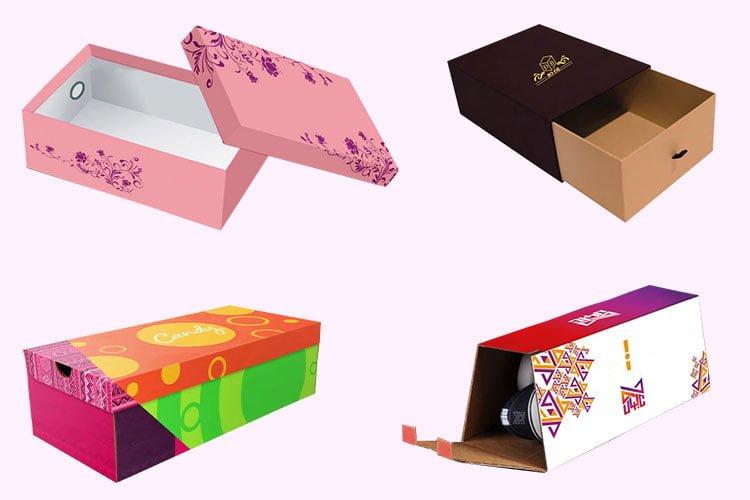 جعبه کفش های خلاقانه