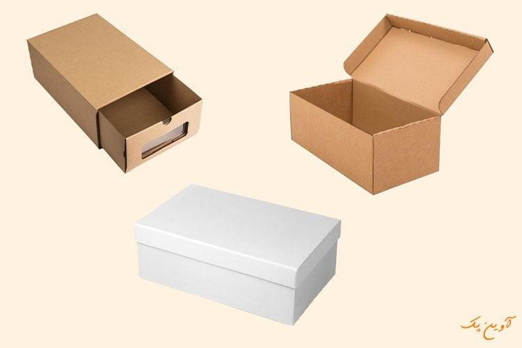 نمونه های جعبه کفش