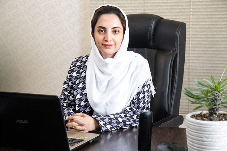 سرکار خانم فرشته محمدی مدیریت کارتن سازی آوین پک