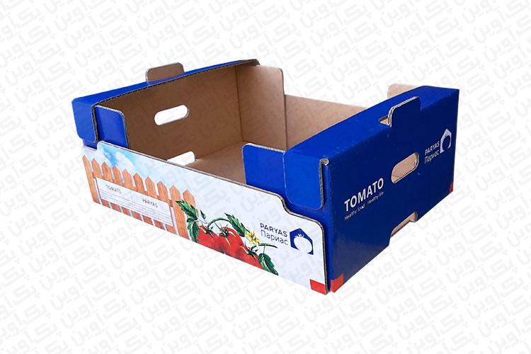 بسته بندی لمینتی گوجه