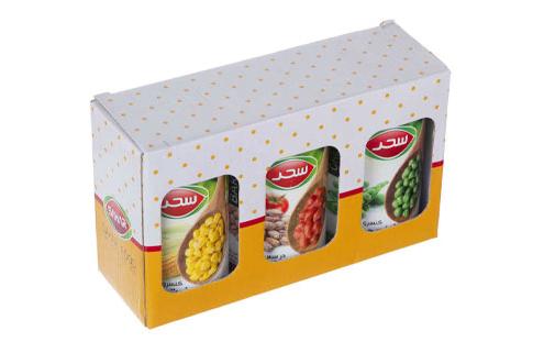 جعبه بسته بندی کنسرو