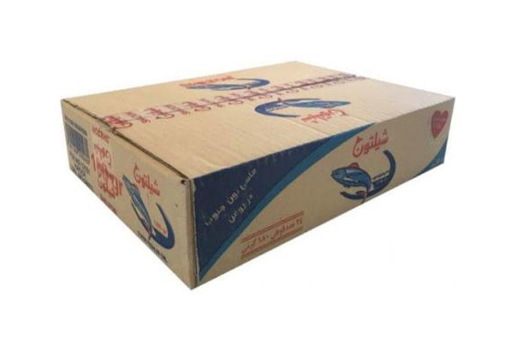 جعبه کنسرو تن ماهی