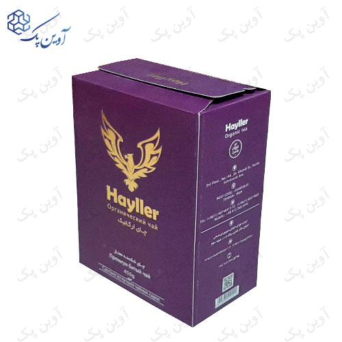 جعبه مقوایی چای